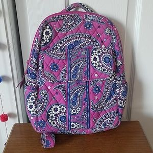 Vera bradley Paisley print small backpack